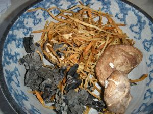 dry ingredients for buddha's delight