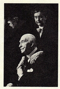 Basil and Maria Toutorsky, photograph courtesy of E. B.