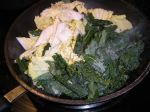 kale and napa cabbage