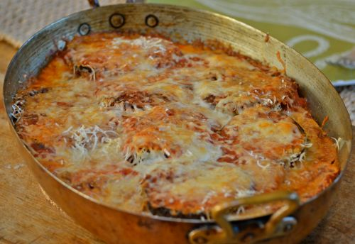 eggplant parmigiana ~ the best ever!