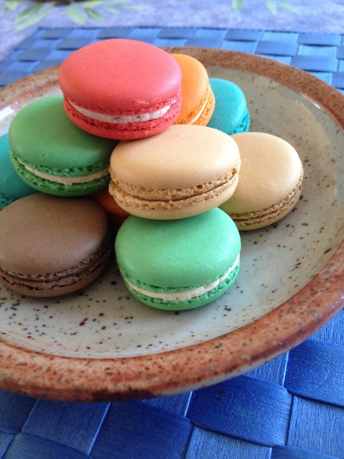 French macarons . . .
