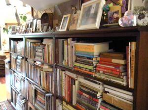 bookshelves today