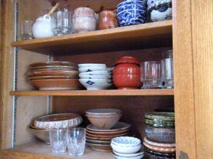 rearranged cupboard today . . .