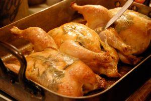 Christmas Eve roast chickensjpg