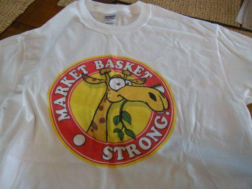 """. . . the giraffe logo symbolizes """"sticking our necks out!"""""""