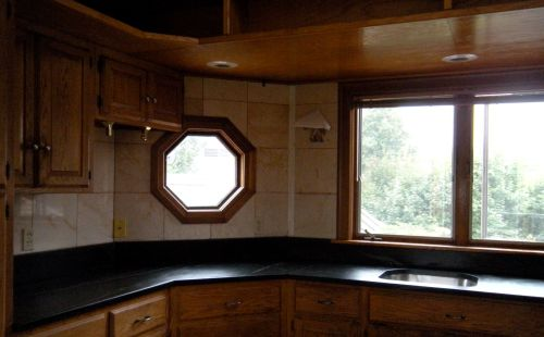 octagonal soapstone countertop left  side . . .