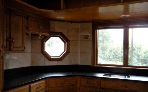 octagonal soapstone countertop left  side . . .