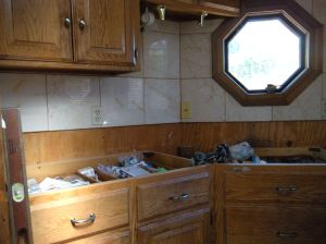 """""""before"""" kitchen counter, left side"""