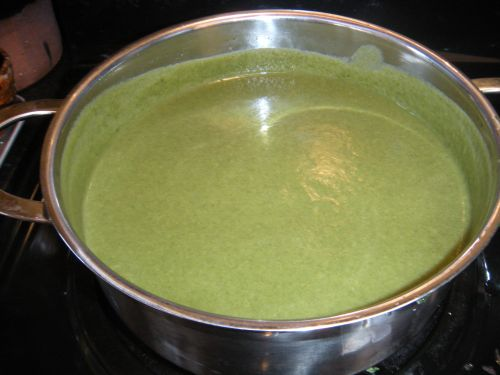 spinach soup 1