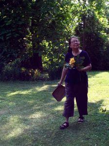 Me in garden 1