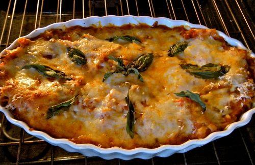 %22gratitude lasagna%22 baked