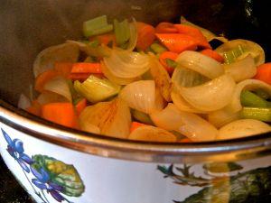 stock vegetables