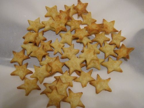 cheese stars for Anna
