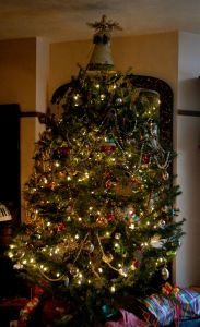 Christmas tree of old