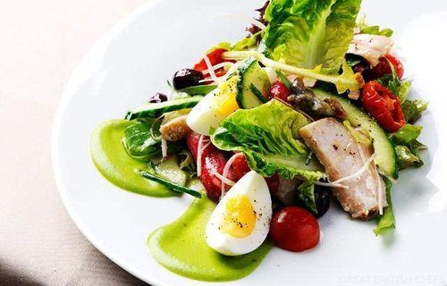 a classic nicoise salad (courtesy of Pinterest)