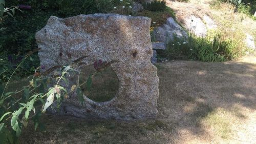 a well stone in Gloucester, MA. - in the book, a wellstone is a talisman about relationships, past and present