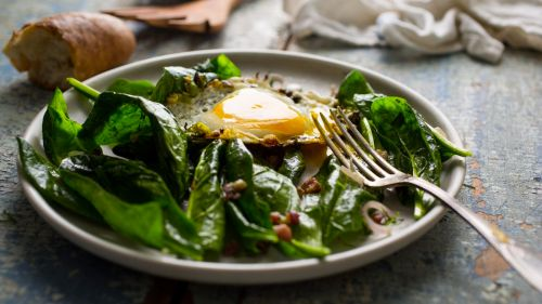 NYTimes photo of Melissa Clark's salad. . .